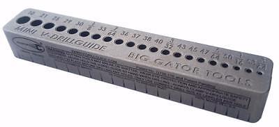 Big Gator Tools SDGMINI Portable Mini V-DrillGuide 21 Hole Sizes V-Drill Guide