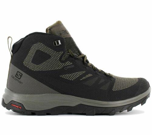 404763 Herren Wanderschuhe Outdoor Schuhe Gore-Tex Salomon OUTLINE MID GTX