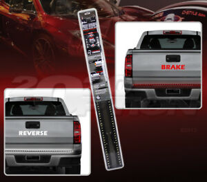 Bully fire strip flexible led brake reverse light bar cut to fit image is loading bully fire strip flexible led brake reverse light mozeypictures Choice Image