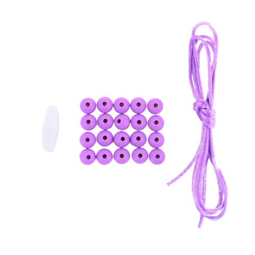20Pcs 9mm Silicone BPA Free Round Beads Necklace Baby Safe Chew Teether