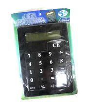 Jumbo Calculator 85 By 115 Sealed On Card Novelty Inc 2006
