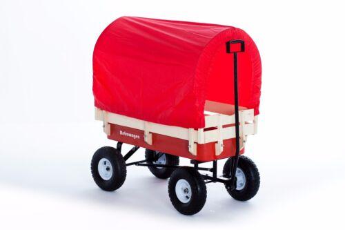 Tirer le long de la canopée Retrowagen - Chariot de kart Beach Beach rétro