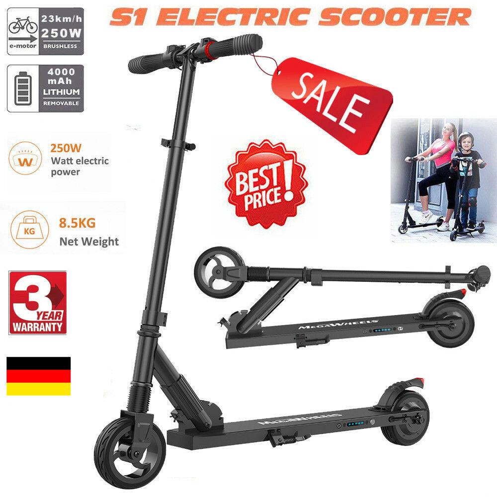Megawheels Faltbar ElektrGoldller City Roller E-Scooter Electro 250W 23km h Sport  | Kaufen Sie online