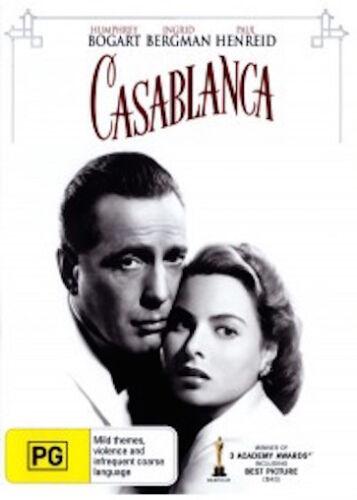 1 of 1 - CASABLANCA : NEW DVD : Ingrid Bergman