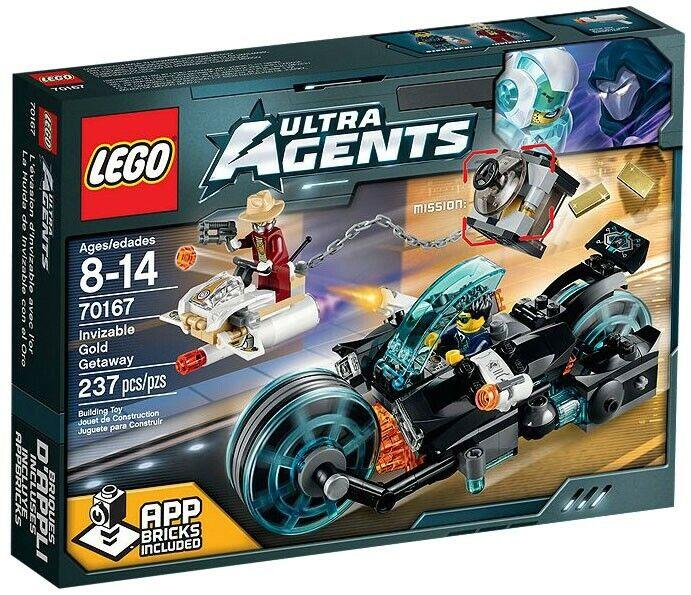 Lego Agentes INVIZABLE oro ESCAPADA Set  70167