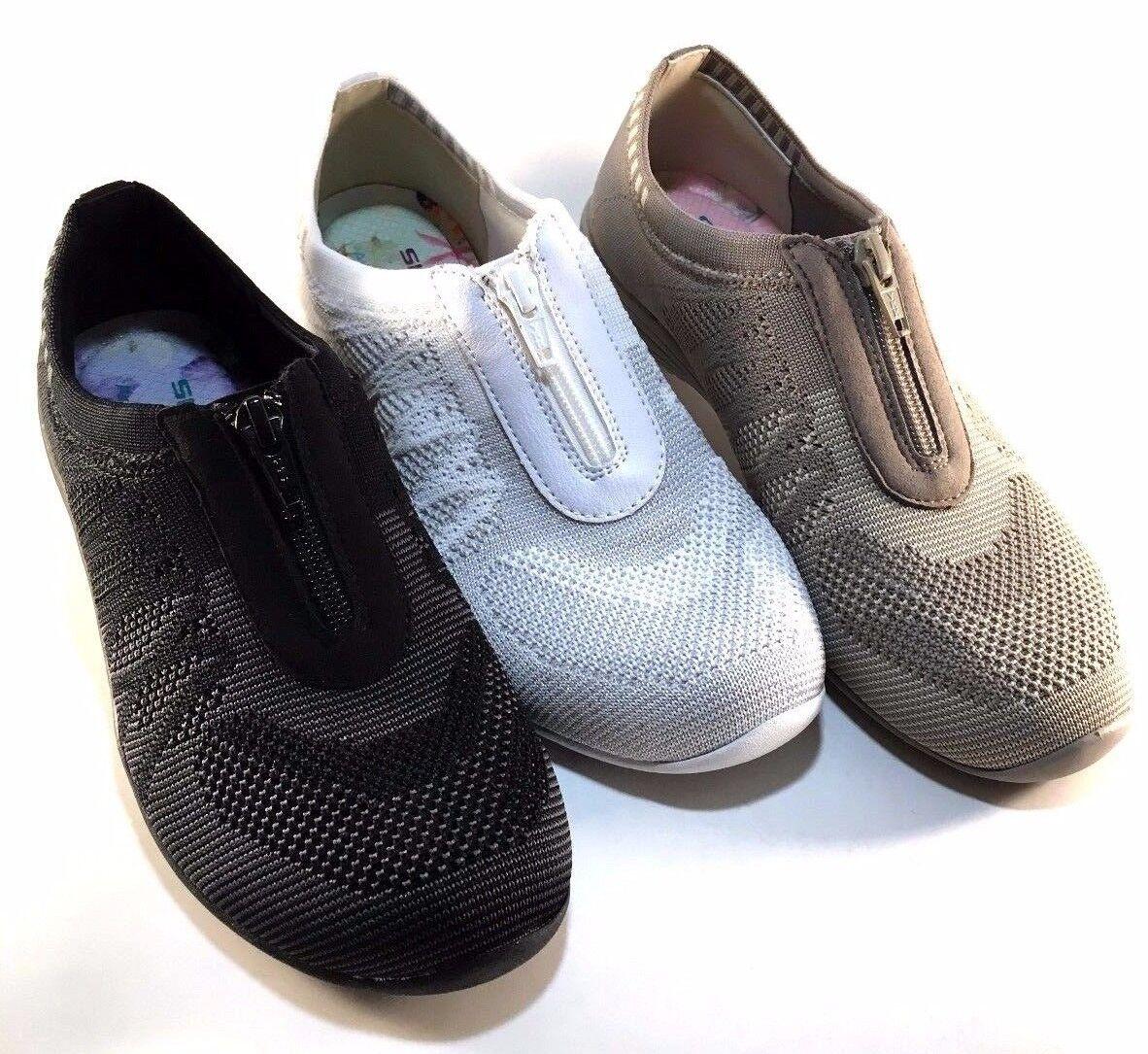Skechers 23064 Classic Fit AirCooled Memory Foam Slip On Sneaker Choose Sz color