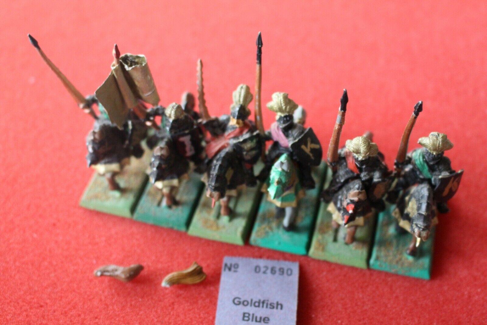 Spel verkstad Warhammer Empire Knights of the Reiksguard Knight Metal Mounted
