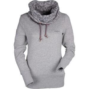 Details zu Mazine Damen Sweatshirt Laverton Heavy Turtle Neck
