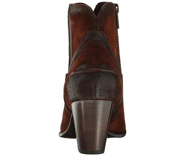 NIB Frye Women's Renee Seam Short Short Short Leather Ankle Booties Brown Suede 72064 SZ 8.5 1605db