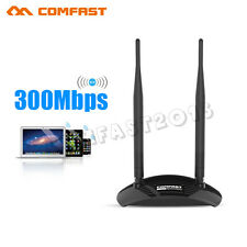 High Power 300Mbps Long Range Wireless 2T2R WiFi LAN USB Adapter 12dBi WU7300ND