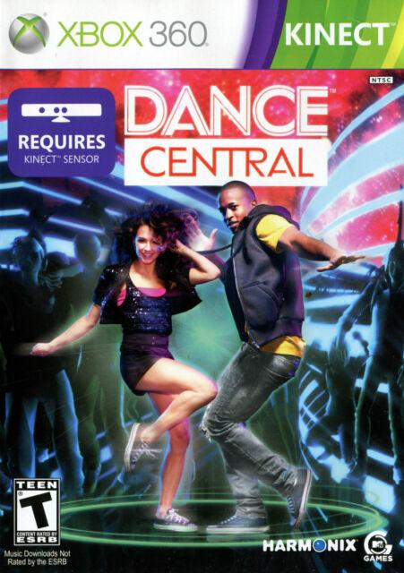 Dance Central (Microsoft Xbox 360, 2010) CIB Like New
