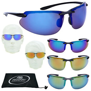 Turismo Mirror Sport Rimless Wrap-around Driving Cycling Outdoor Sunglasses