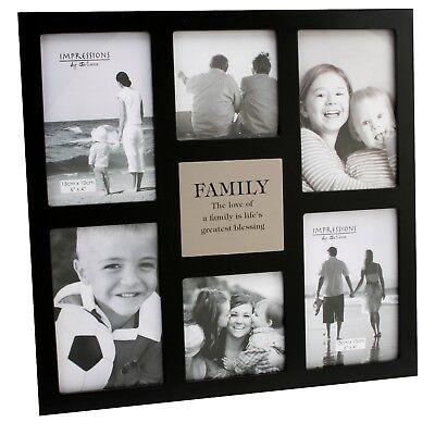 """""""famiglia"""" Multi Aperture Cornice Foto-contiene 6 Foto-"""