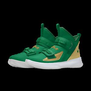 Nike-Lebron-Soldier-13-XIII-iD-Green-Gold-SVSM-Custom-Mens-Basketball-2019-NEW