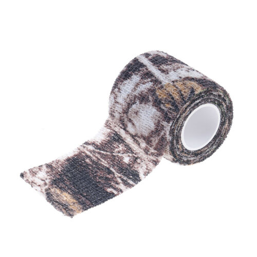Camping-Hygiene Camping-Waschbecken 1Pc 5Cm X 4.5M Waterproof Hunting Camouflage Camouflage Stealth Tape Elasti JF