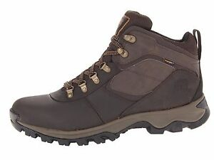 Details zu TIMBERLAND 2730R MEN'S MT MADDSEN WATERPROOF MID LEATHER HIKING BOOTS US 9 EU 43