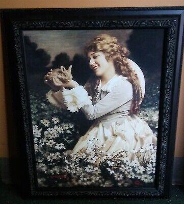Victorian Trading Co Autumn de Paix Woman in  Ball Gown Print By  Kadri Umbleja