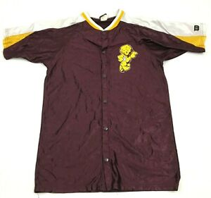VINTAGE Wilson Mountain Pointe Pride Basketball Warm Up Jersey Snap Front Shirt