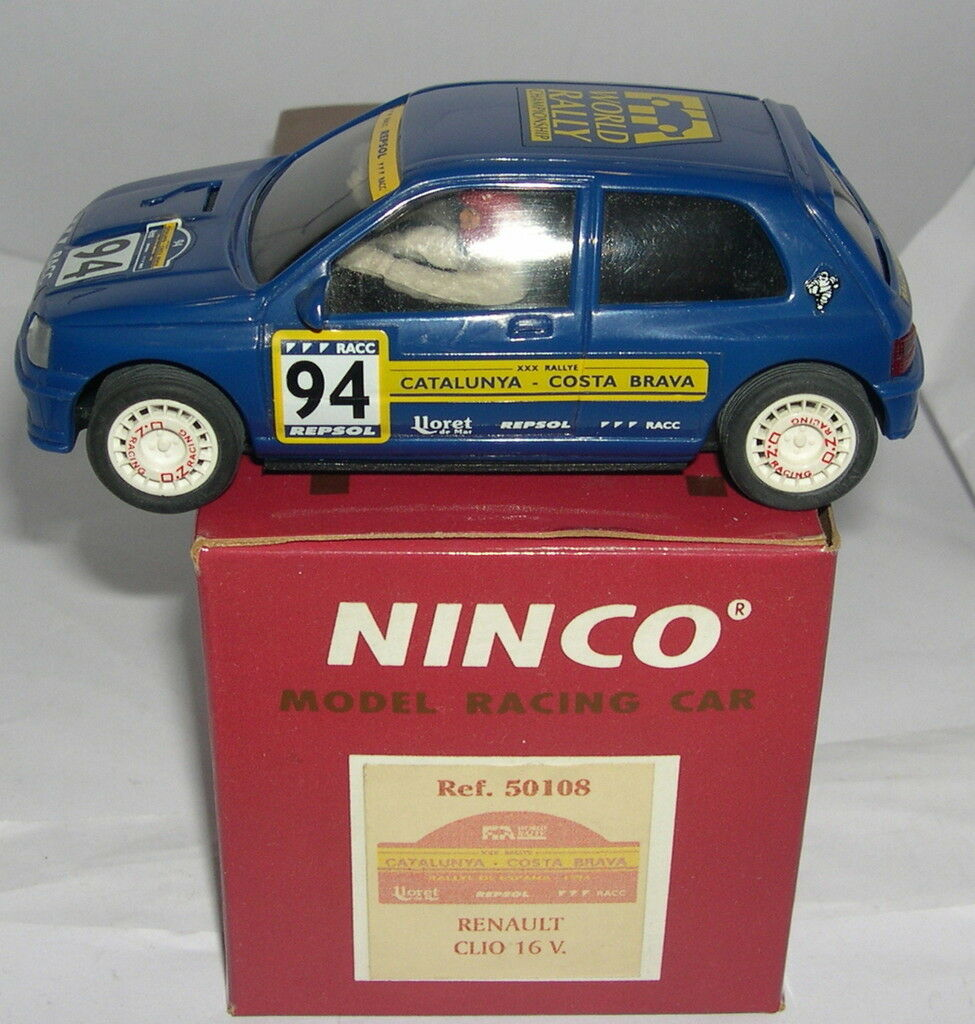 NINCO 50108 RENAULT CLIO 16V  64 CATALUNYA COSTA BRAVA 1994 LIMIT.ED. MB