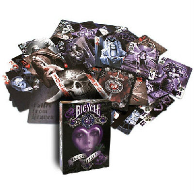 Bicycle Anne Stokes Dark Hearts Deck - Playing Cards - Magic Tricks - New