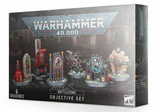 Warhammer 40k Battlezone Objective Set NIB