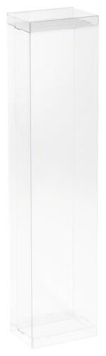 "50-Pack DollSafe Clear Folding Box for 10-11.5/"" Dolls 3/""W x 2/""D x 12.5/"" H"