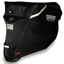 Oxford Protex Stretch Outdoor Motorcycle Motorbike Cover Size XL X-Large CV163