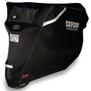 Oxford-Protex-Stretch-Outdoor-Motorcycle-Motorbike-Cover-Size-XL-X-Large-CV163