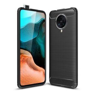 Xiaomi-Poco-f2-Pro-Portable-Housse-En-Silicone-Case-Housse-Cover-Etui-Carbone-Couleurs