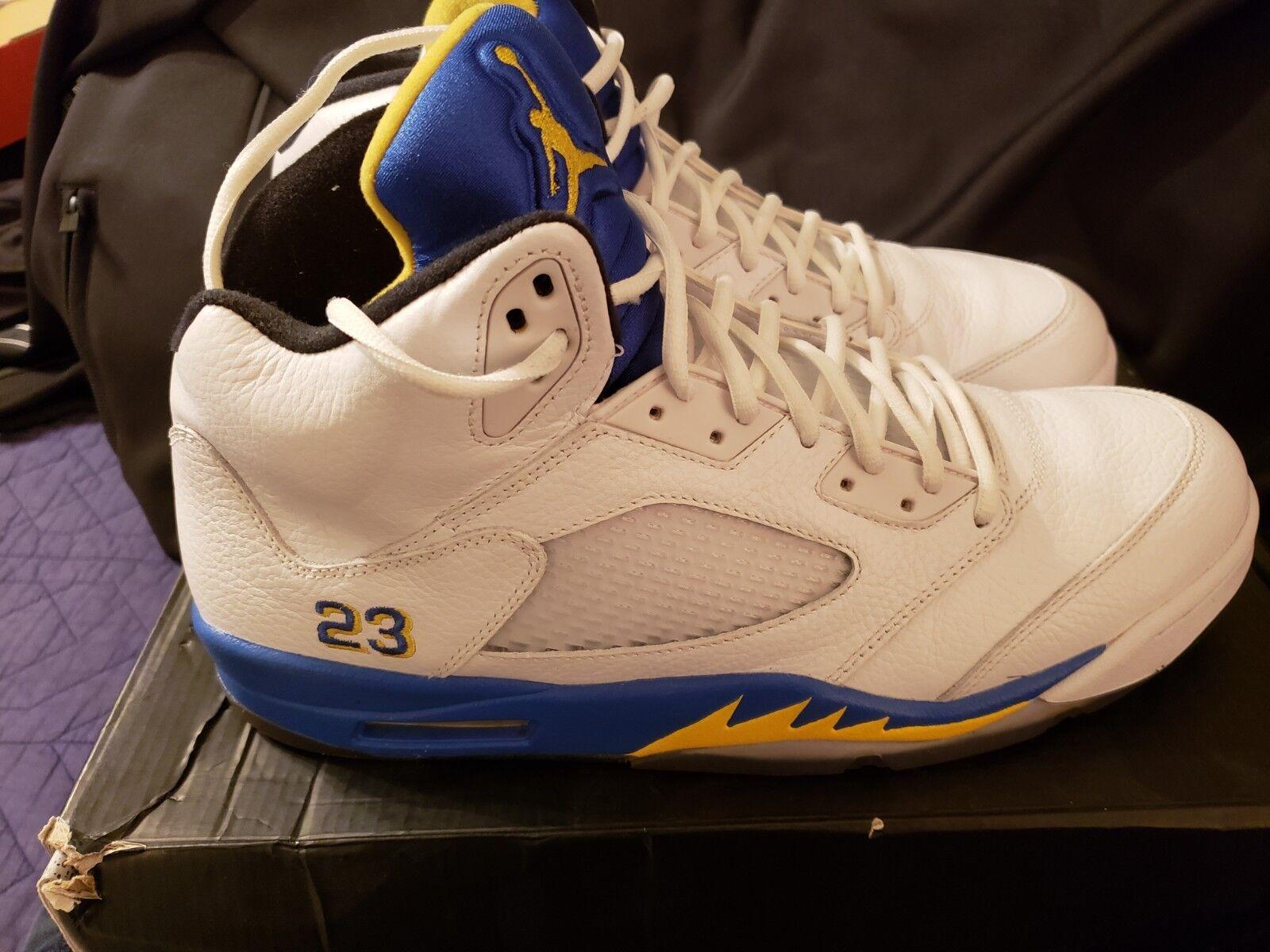Air Jordan 5  Retro Laney Size 14
