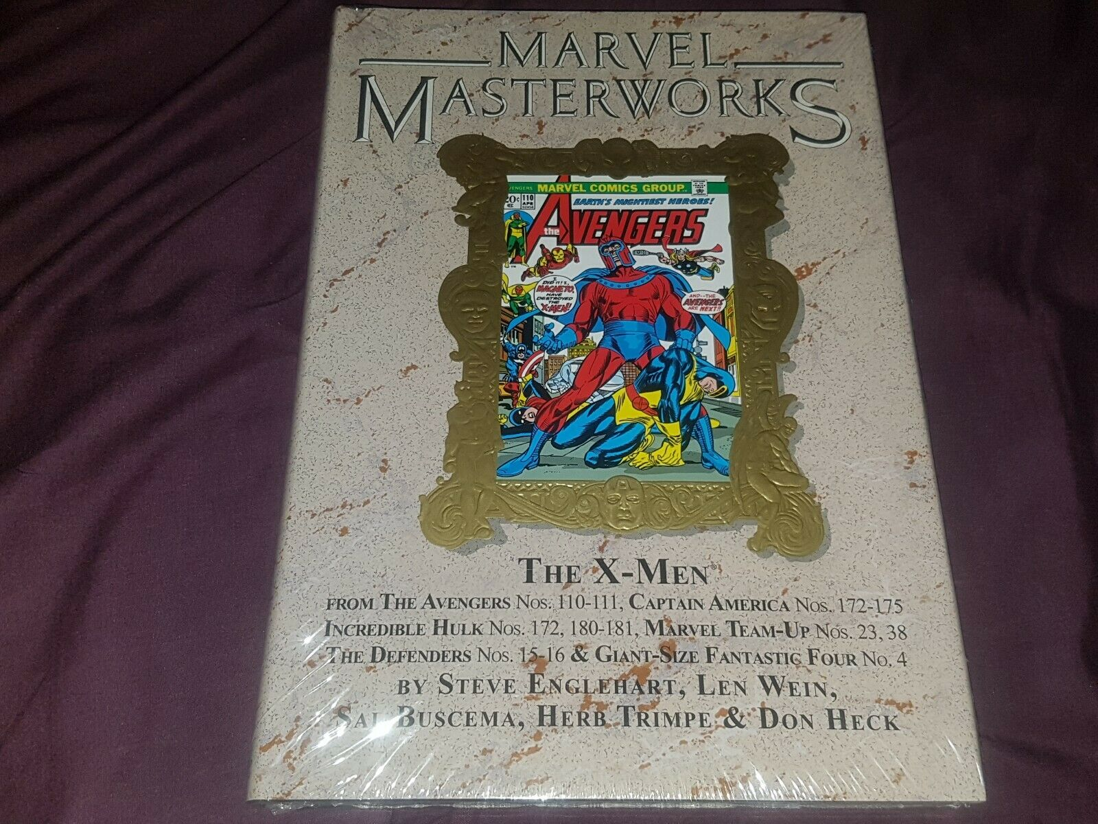 MARVEL MASTERWORKS - X-MEN VOLUME 8 VARIANT VARIANT - MINT SEALED - RARE L@@K