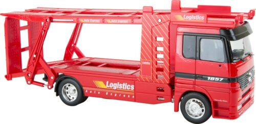 Modello di auto Mercedes-Benz Furgoni Auto Rosso 1:32 Camion Veicolo Modello raccogliere NUOVO