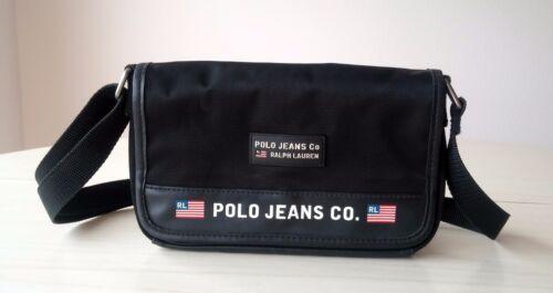 acheter pas cher 824bd fb3c5 Femme Ralph Toile Polo Sac Noire Pochette Lauren Bandoulière ...