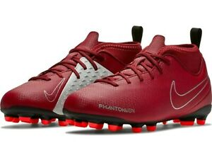 d9e34d785e871 Details about Nike JR Phantom Vision VSN Club DF MG Red Soccer Cleats Size  5Y Youth AO3288 606