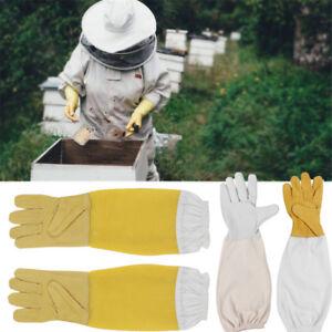 Guanti-di-apicoltura-Mantello-di-capra-con-apicoltore-ventilato
