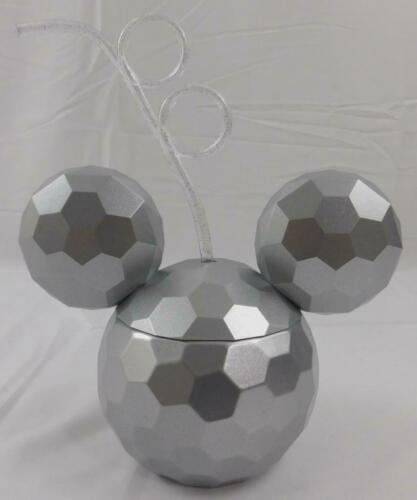 Disney Mickey Mouse Disco Ball Tumbler Sipper Cup Straw New 20 Oz