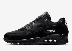 Nike-Air-Max-90-Essential-Men-039-s-Sneakers-Black-White