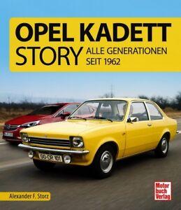 Opel-Kadett-Story-Alle-Generationen-seit-1962-Modelle-Baureihen-Typen-Buch-Book