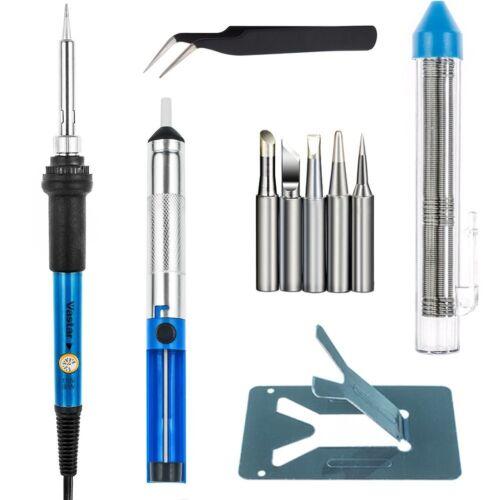 Adjustable Temperature 5pcs Dif... Vastar Full Set 60W 110V Soldering Iron Kit