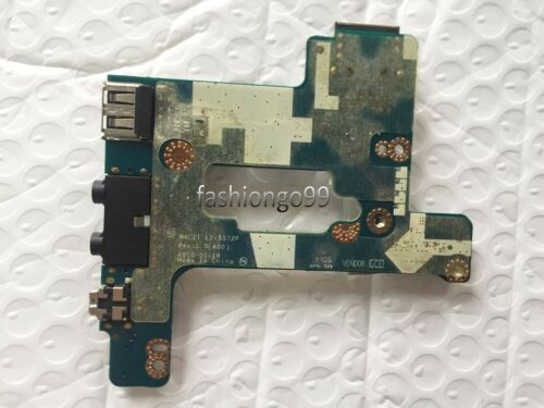 For Dell Precision M4500 Notebook USB Ethernet Audio Power Button Board LS-5572P