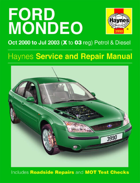 ford mondeo mk3 2000 2003 haynes workshop manual 3990 ebay rh ebay co uk 2002 Ford Mondeo 2002 Ford Mondeo