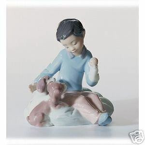 Lladro-034-Growing-Up-Together-034-6983-NEW-in-Box