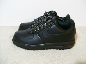 SZ-8-Nike-Lunar-Force-1-Duckboot-Waterproof-Sneaker-Black-AA1125-001-Boots-Air