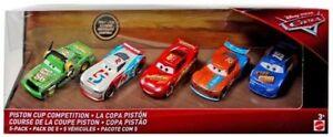 CARS-3-PISTON-CUP-COMPETITION-5-Pack-Paul-CONREV-Ryan-LANEY-Mattel-Disney