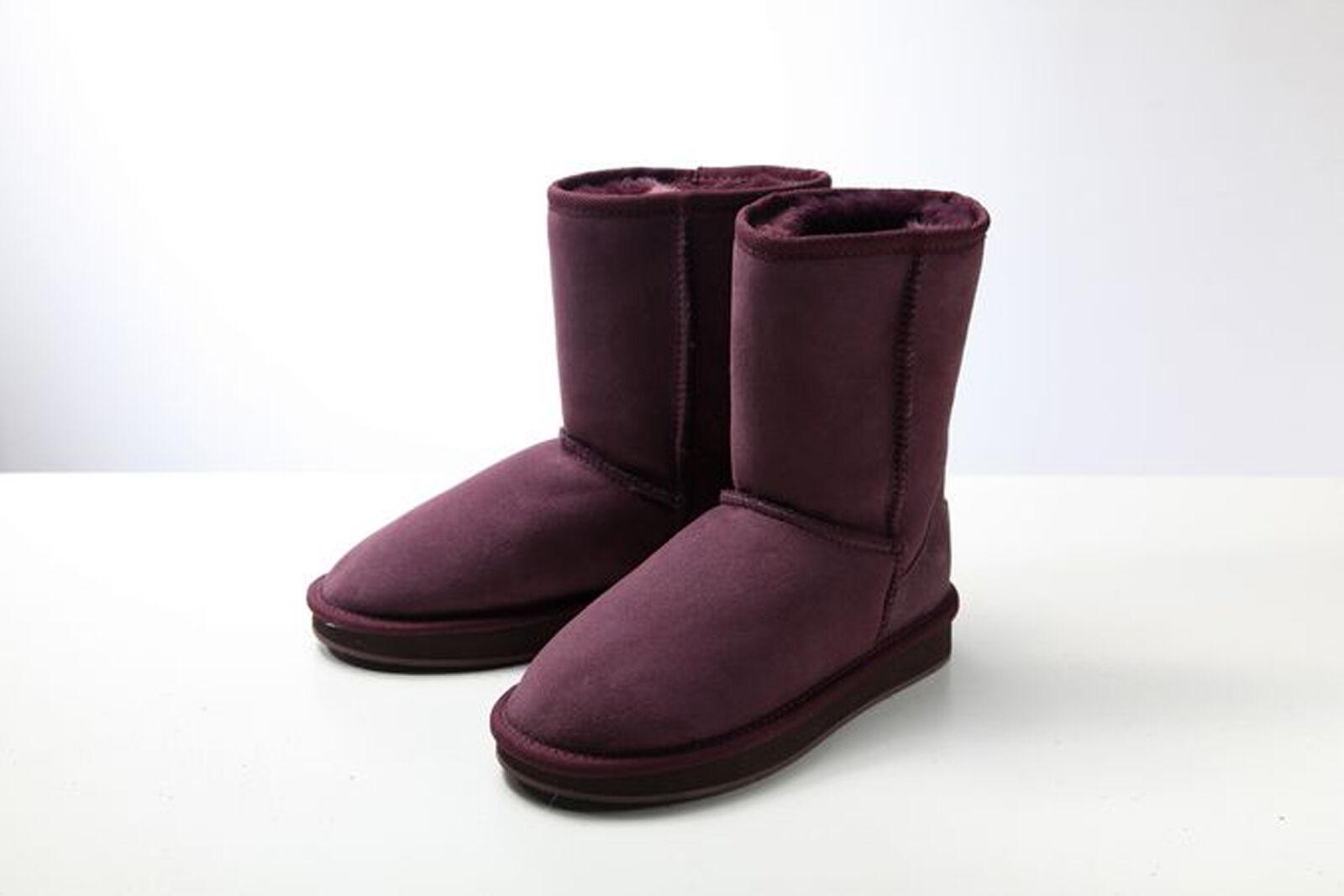 Prémium UGG Klasszikus rövid Ausztráliai Juharuházat Boot Purple - Vízálló csúszásmentes