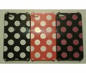 New-iPhone-4-amp-4S-Stylish-Spotted-Series-Hard-Case-Cover-Three-Colours