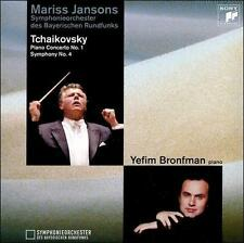Mariss Jansons Tchaikovsky: Piano Concerto #1, Symph #4 NEW