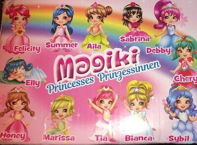 Magiki Princesse tous les 12 chiffres différents certains changer les couleurs