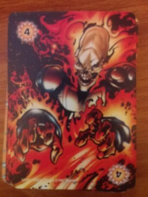 Marvel Overpower Image Fighting 4 Spawn Power Card NM-Mint