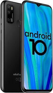 "Ulefone Note 9P 4G Unlocked Cell Phones 6.52"" HD+ 16MP 4GB/64GB Black New!!!"